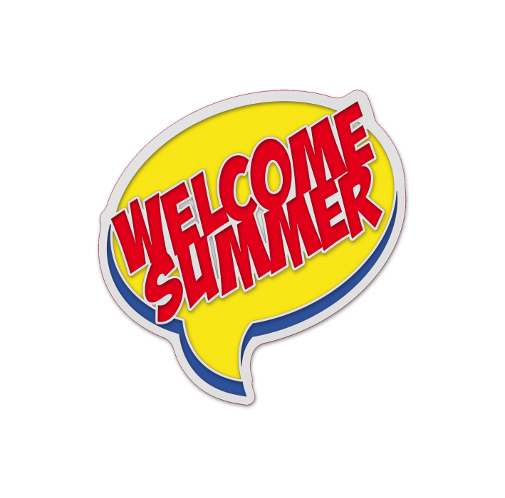 "Значок-""Welcome Summer"""